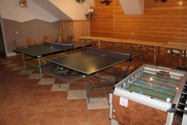 Stół do ping ponga i piłkarzyki