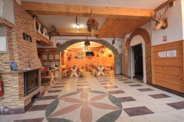 Wnętrze pensjonatu Harnaś II w Kościelisku