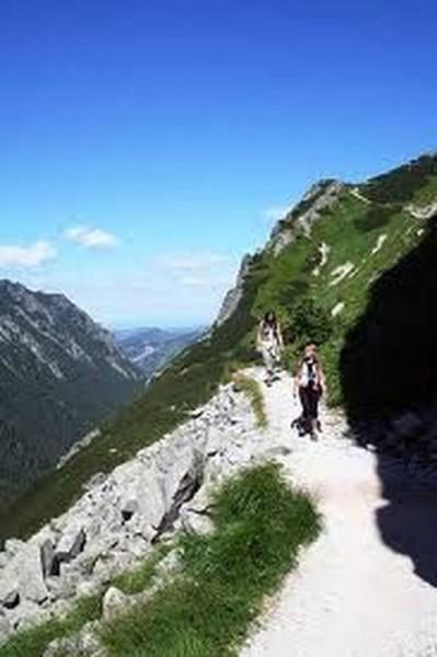 Szlak turystyczny w Tatrach